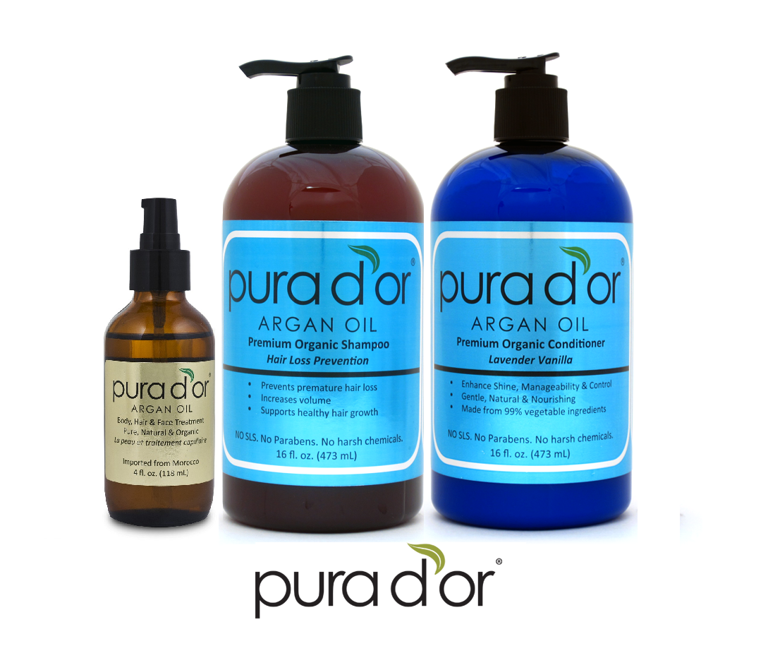 Pura d'or Hair and Body Care