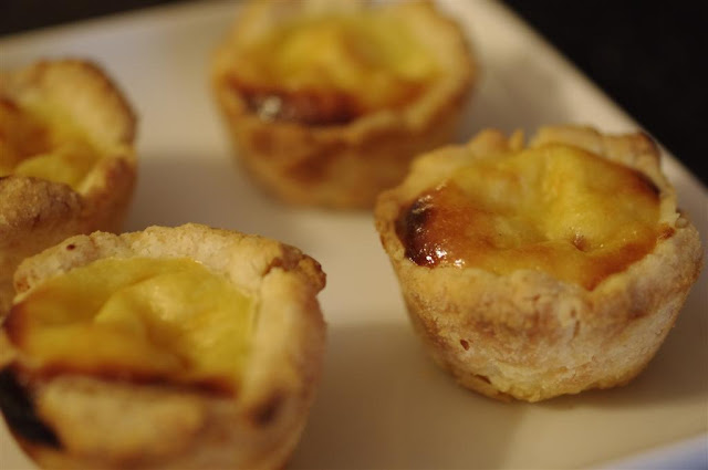 how to make portuguese egg tarts from scratch