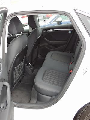Audi A3 Limuzyna - tylna kanapa