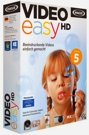 تحميل برنامج تعديل وتحرير الفيديو MAGIX Video easy HD مجانا