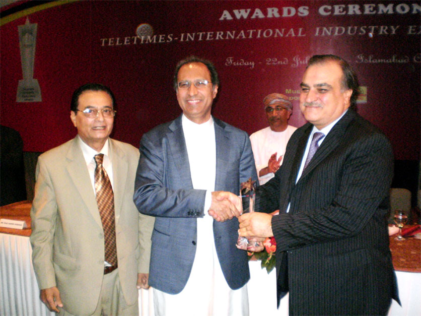 Mr. Walid Irshaid Wins TeleTimes International Leadership Award for Best Broadband Services