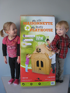 Cascades Pretty Playhouse Packaging