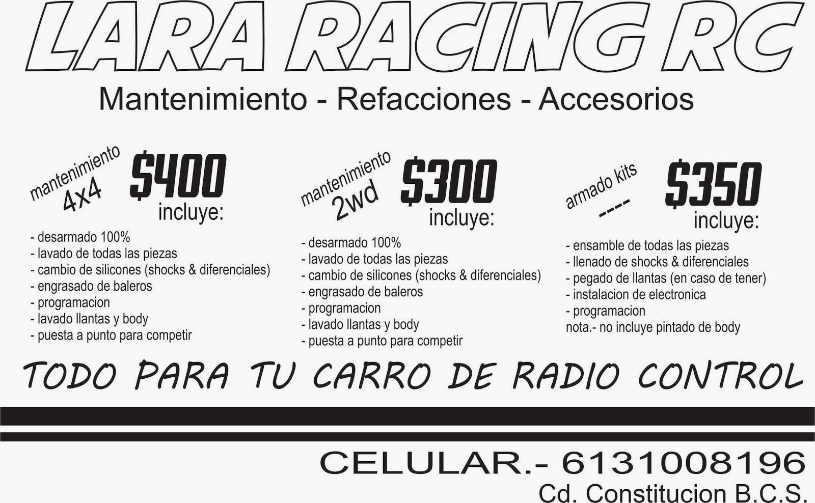 LARA RACING RC