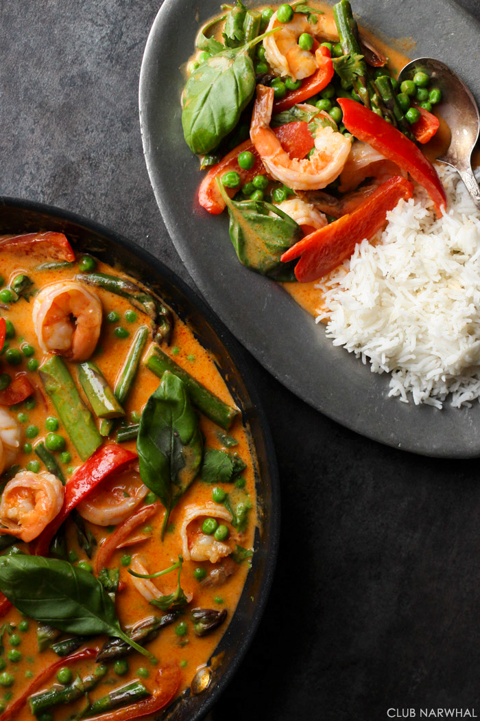 Easy Thai Red Curry | Club Narwhal
