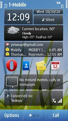 symbian^3 spb shell