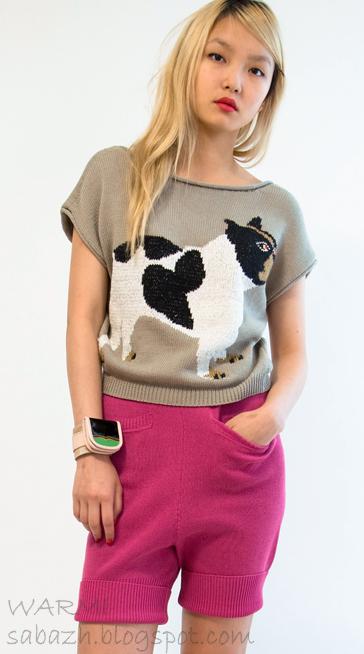 модные вязаные свитера