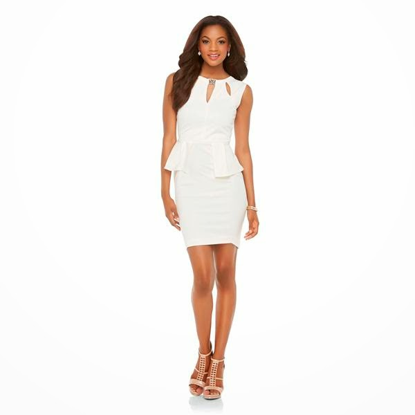 Styling On A Budget: Shop Kim\'s $50 Peplum Dress