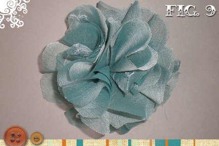 Как сделать цветок из шелка мастер класс