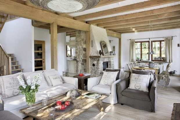Inspiracje W Moim Mieszkaniu Wiejski Dom W Stylu Cottage Country Cottage Style House
