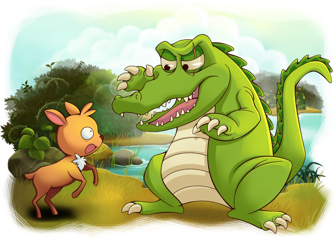 outwitting a crocodile Read the rabbit and the crocodile from the story timog silangan: outwitting a crocodile bawang merah bawang putih the golden harvest it came close to the poor rabbit the crocodile suddenly snatched the small creature into its mouth with intention of eating it slowly.