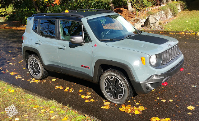 2015 Jeep Renegade Trailhawk Front 3/4