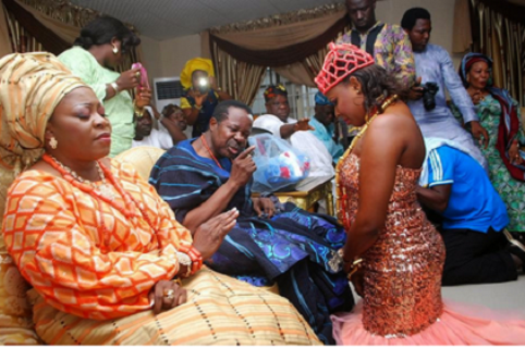 ... : Photos from King Sunny Ades daughters traditional wedding