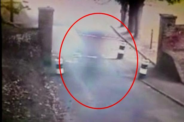 Ghost Caught on CCTV at Dover Castle
