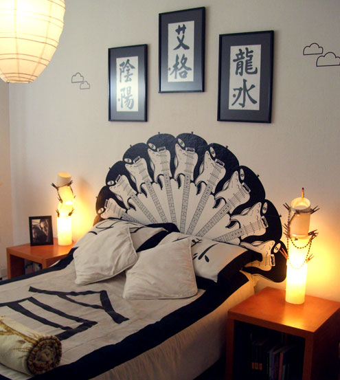 Window to neverland decoraci n cabeceros diy - Cabecero cama casero ...