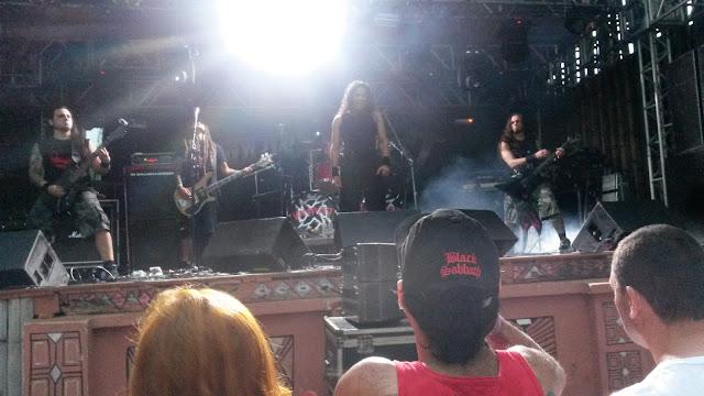 VoodooPriest no palco principal