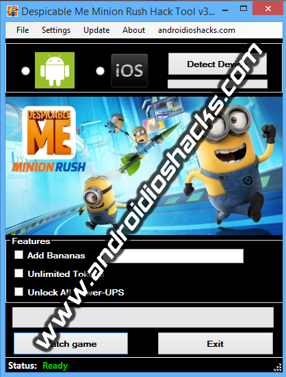 Despicable Me Minion Rush Hack Tool v3.0 (Updated March 2014) (No Root