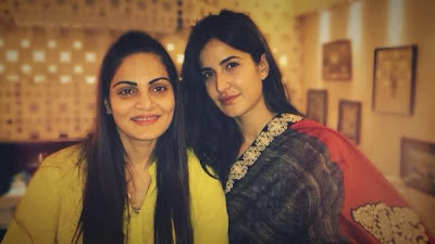 Katrina Kaif visits Alvira Khan's store