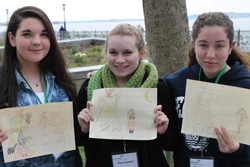 Girl Scouts of Nassau County (GSNC) Girl Scouts Drawing Ledger Art