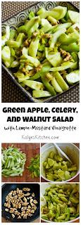 Green Apple, Celery, and Walnut Salad with Lemon-Mustard Vinaigrette found on KalynsKitchen.com
