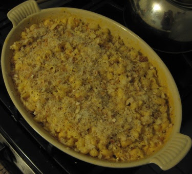 mac and cheese gratin