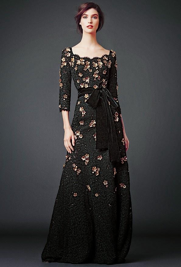 dolce and gabbana black lace modest maxi dress with sleeves stylish beautiful fashion Mode-sty mormon lds tznius jewish orthodox Christian pentecostal muslim hijab islamic