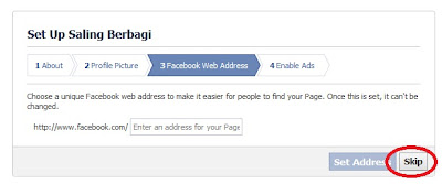 Cara Membuat Fanspage Facebook Untuk Blog