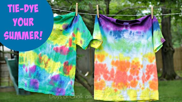 tie dye party kids art