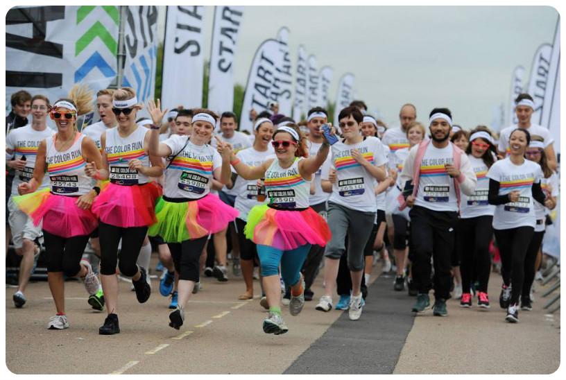 FitBits | Brighton Color Run 2013