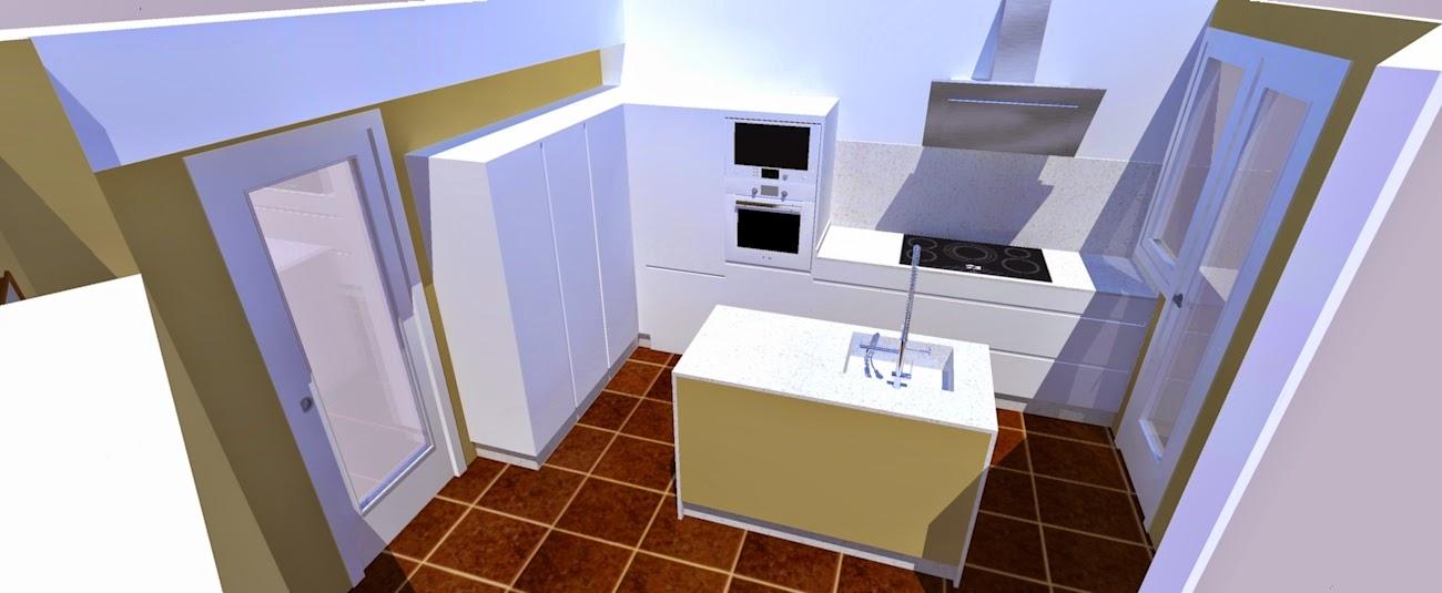 Los hogares que habitamos for Muebles de cocina zona pilar