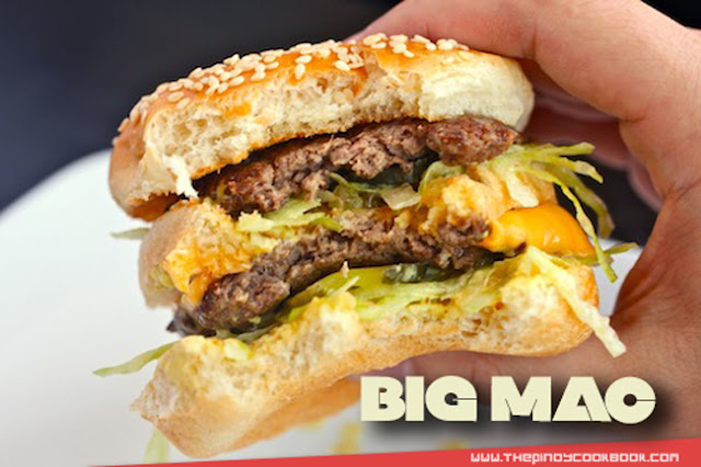 How To Make Homemade BIG MAC mcdonalds Philippines secret sauce patty burger hamburger tutorial pics videos angus beef special sauce