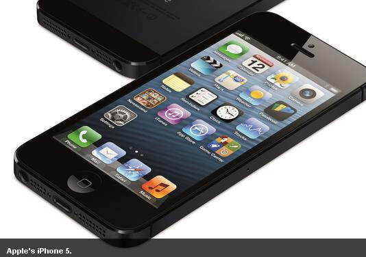 Apple's smartphone 5