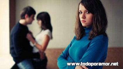 ¿Romper una relación por terceras personas?