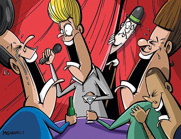 Sambut Tahun Baru 2012, Stand Up Comedy ala Blogger Bertuah