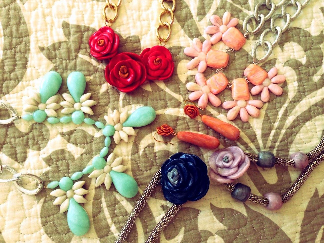 Fantasía Floral Hecha con FIMO