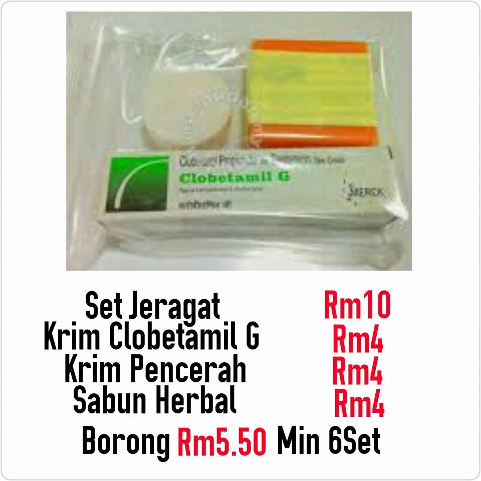 Set Clobetamil RM10