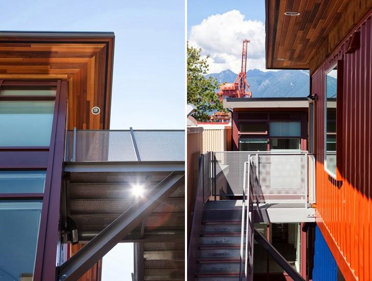 Casas contenedores casas sociales hechas con contenedores marinos en vancouver - Casas en contenedores marinos ...