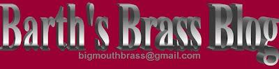 Barth's Brass Blog
