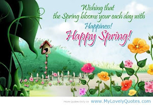 Happy springtime