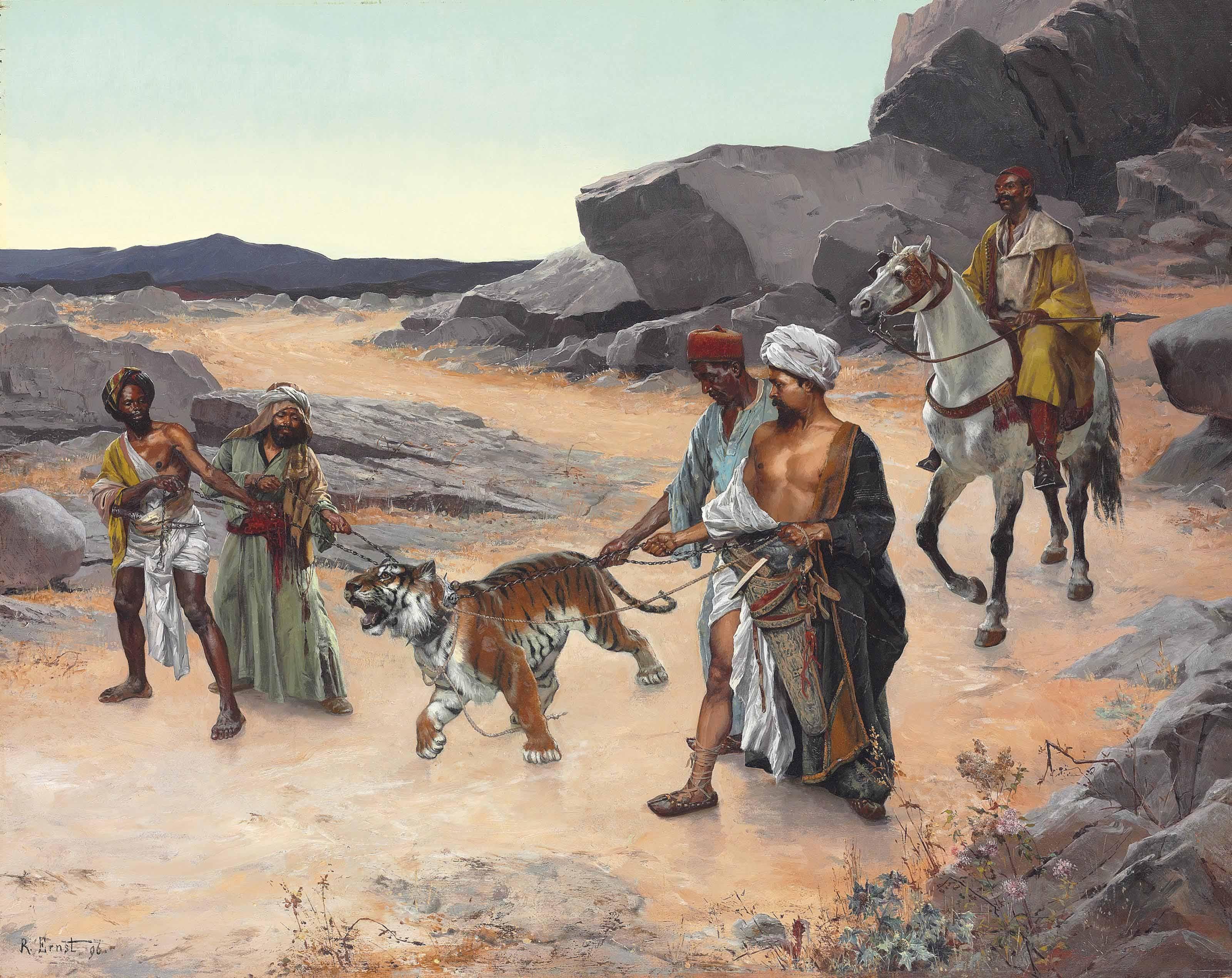Rudolf Ernst Return from the tiger hunt