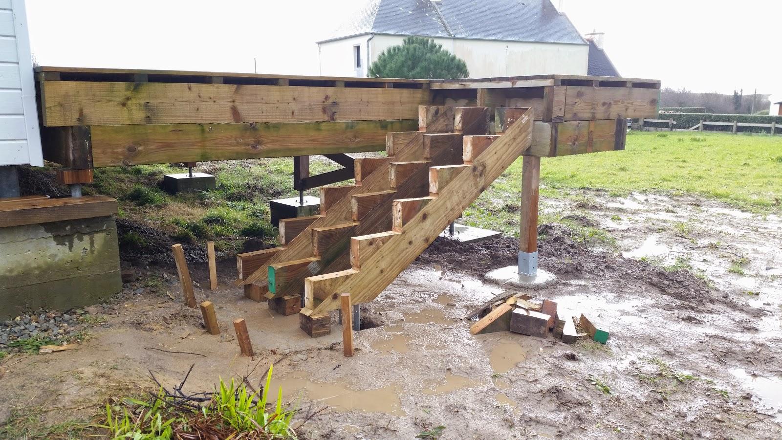 L 39 escalier ext rieur de la terrasse for Escalier de terrasse