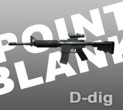 Senjata M4A1 Ext. Point Blank-PB