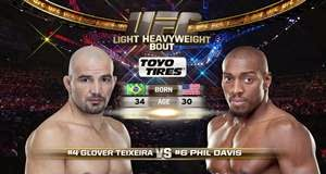 UFC 179: Video da luta Glover Teixeira x Phil Davis