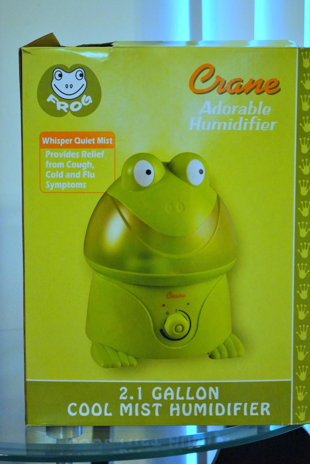 Diary of a Fit Mommy: Crane Ultrasonic Humidifier Product Review #BC6E09