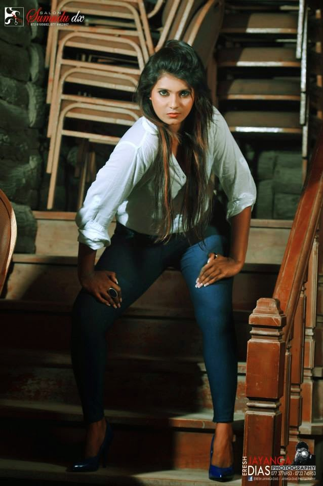 Rishe Angela sri lankan model