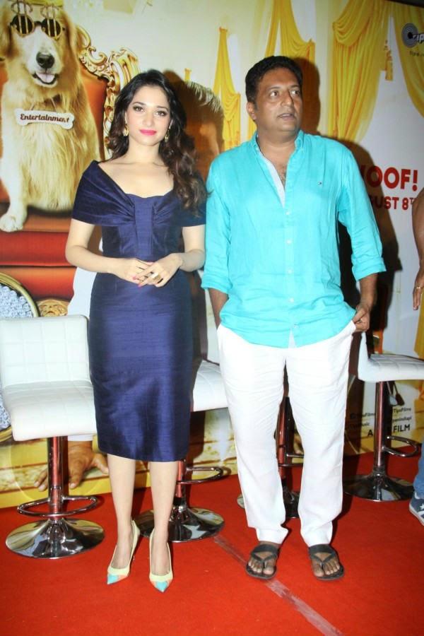 Tamannaah Bhatia and Prakash Raj
