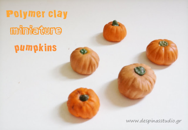 Polymer clay tutorial : Pumpkin