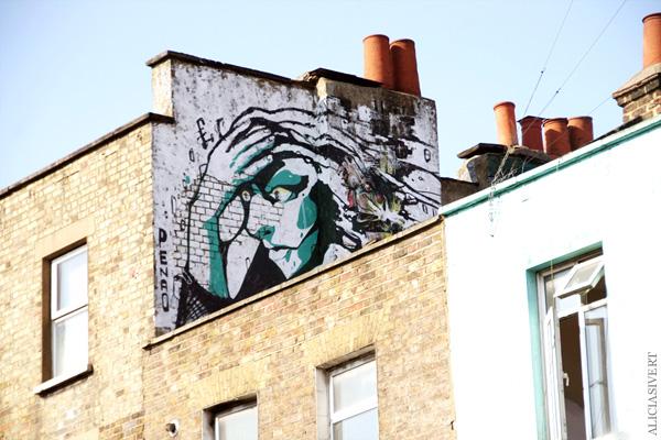 aliciasivert, alicia sivertsson, london med grabbarna, england, camden town, penao, street art, grafitti