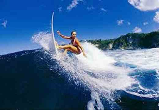Gambar indahnya pantai plengkung Banyuwangi Jawa Timur