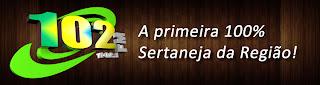 ouvir a Rádio 102 FM Sertaneja 102,1 ao vivo e online Manduri