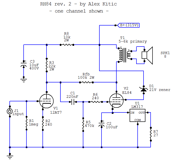RH Amplifiers: RH84 amplifier - revision 2 on electronic design automation, what are inventions, schematic editor, one-line diagram, straight-line diagram, what are power, what are kits, function block diagram, what are photographs, ladder logic, what are ideas, schematic capture, what are service, cross section, what are technical publications, what are block diagrams, piping and instrumentation diagram, tube map, technical drawing, what are tips, functional flow block diagram, what are electronics, diagramming software, what are links, what are articles, what are software, data flow diagram, what are code, what are construction, control flow diagram, what are systems, what are specifications, circuit diagram, what are designs, what are equipment, block diagram, what are gerbers,